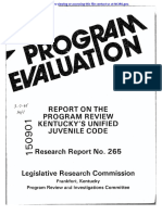 REPORT ON THE PROGRAM REVIEW KENTUCKY'S UNIFIED JUVENILE CODE.pdf