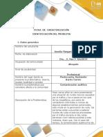 Ficha de Caracterización Original