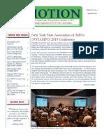 In Motion Newsletter, September 2019