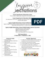 classroom expectations sy19-20