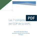 Las 7 Competencias Del COP de La AAPC Trabajo Final