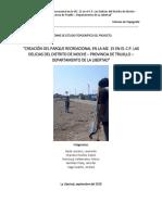 Informe de Estudio Topográfico Del Proyecto