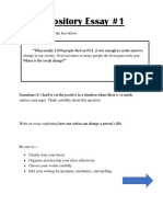 Expository Prompt, Brainstorm, Outline, & Notes.docx