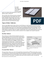 Solar Collector - Energy Education