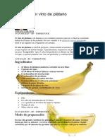 Cómo Hacer Vino de Plátano