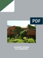 Glosario Técnico Albañilería