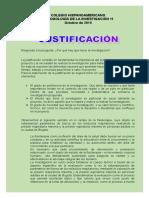 guía justifi- metodología