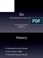 Git – A Distributed Revision Control System