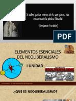 Elementos Esenciales Del Neoliberalismo (Economia Politica)