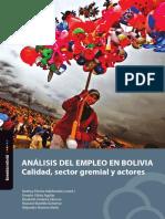 Analisis Del Empleo en Bolivia