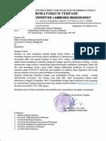 Pelaksanaan Monitoring FPK