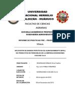 Informe de Practicas Bpal Dina Rodriguez.