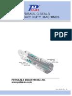 HYDRAULIC SEALS for Heavy Duty Machines