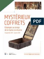Exposition Mysterieux Coffrets au Musée de Cluny