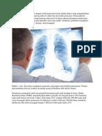 Pneumonia Atau Dikenal Juga Dengan Istilah Paru