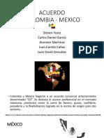 Acuerdo Col - Mex