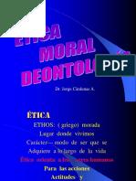 6.-Etica Moral Deontologia- Relaciones Humanas