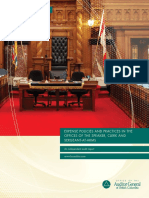 Expense Policies and Practices in the Offices of the Speaker, Clerk and Sergeant-at-Arms