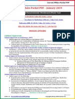 Current Affairs Pocket PDF - January 2019 by AffairsCloud