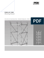 Peri Up Flex Shoring Tower Instructions for Assembly and Use