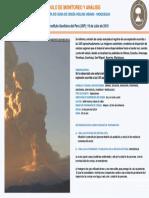 Boletin Aviso de Alerta de Caida de Ceniza Volcan Ubinas 19-06-2019