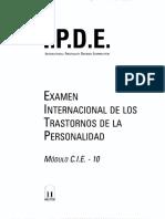 IPDE CIE 10