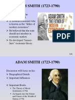 ADAM SMITH (Classical School)(1)