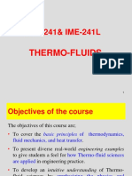 Thermo Fluid Basic Introduction