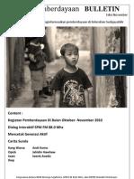 Bulletin Edisi November