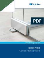 Patch - Corner Fitting System