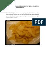 Snack de Mandioca