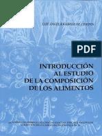 Introducción Al Estudio de La Composición de Los Alimentos