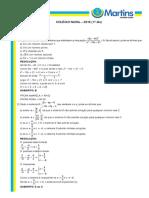 Cólegio Naval 2015 Matemática
