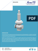 Downstream Direct Acting Pressure Regulator DM & DL Series