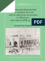 Las Transformaciones Del Patrón de Los Asentamientos Humanos en Sinaloa-RED