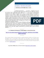 Fisco e Diritto - Corte Di Cassazione n 22135 2010