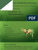 Las Dietas y El Vegetarinismo