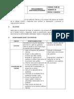 P-mc-02 Procedimiento Auditorias Internas