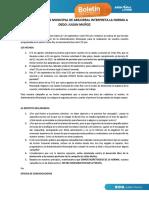 Boletín de prensa (Julián Muñoz)