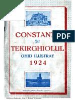 IONESCU TH., DUPLOYEN I. N. - Constanta Si Techirghiolul. Ghid Ilustrat pentru vizitatori 1924