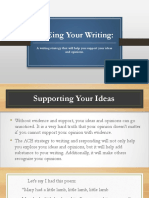 aceing your writing powerpoint jb version