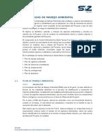 8.0 Estrategias de Manejo Ambiental