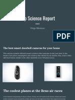 pop science report