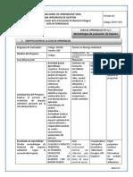 Guia de Aprendizaje 4Y5 Metodologias