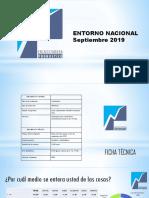 Encuesta Pronóstico - Venezuela - Septiembre 2019