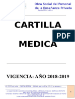 Cartilla Medica 2019