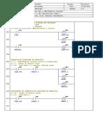Programação em linguagem ladder de exercício