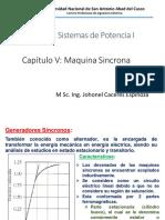 Cap v.a - Maquina Sincrona