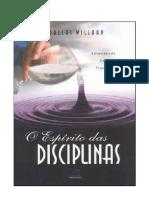 O Espírito Das Disciplinas - Dallas Willard
