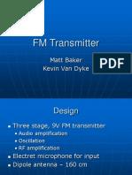 101222824 FM Transmitter